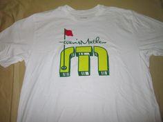 TRAVIS MATHEW  Golf T  Shirt M Medium - White - MASTERS Inspired Augusta #TravisMathew #TShirt