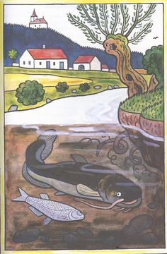 Prague, Grandma Moses, Henri Rousseau, Naive Art, Board Ideas, Czech Republic, Four Seasons, Folklore, Illustrators