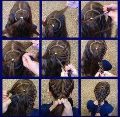 Circle French-braid