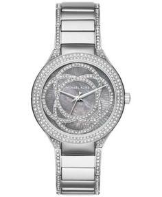 Michael Kors Women's Kerry Crystal Accent Stainless Steel Bracelet Watch 38mm MK3480 | macys.com