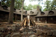 Camp Wing & the Duxbury Stockade - Camp Fire