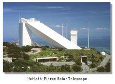 The McMath-Pierce Solar Telescope - Tucson, AZ