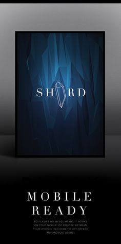 Flat Surface Shader by Tobias van Schneider, via Behance