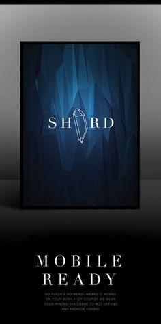 Flat Surface Shader by Tobias van Schneider, via Behance