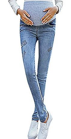 USR Womens Dark Pale Wash Embroidered Secret Fit Belly Maternity Slim Jeans SkyBlue 10 ManufacturerXXL *** Learn more by visiting the image link. (This is an affiliate link) Slim Jeans, Skinny Jeans, Maternity Jeans, Image Link, Note, Amazon, Dark, Fitness, Pants