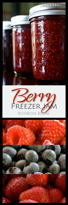 Easy Berry Freezer Jam