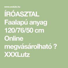 ÍRÓASZTAL Faalapú anyag 120/76/50 cm Online megvásárolható ➤ XXXLutz