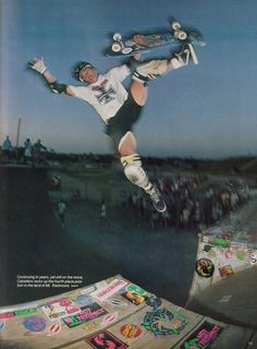 Steve Caballero Boneless One. I remember this shot from an old Thrasher or Transworld