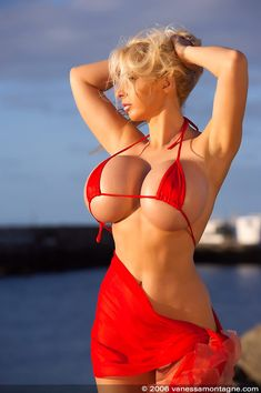 Bikini blonde boobs porn congratulate, excellent