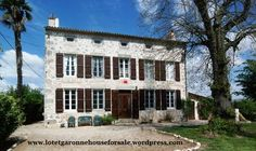 #Property for #sale: A traditionally ##tored #riverside stone Maison de Maitre c1698 - 5 bedrooms, 4 bathrooms, pool, outbuildings and set on 1.08 hectares. Lot et Garonne #France
