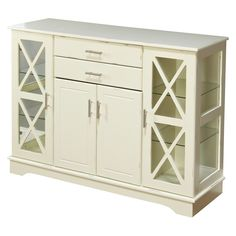 Kendall Buffet - Antique White