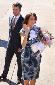 Prince Frederik and Princess Mary of Denmark officially welcomed at the Sydney Opera House. Picture: Cameron Richardson
