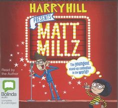 Audio edition of Matt Millz by Harry Hill, which we just received from Bolinda