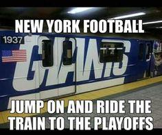 GB BOUND #NYG #GoGMEN New York Football, New York Giants, Trauma, Sports, Hs Sports, Sport