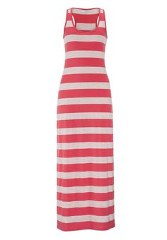 racerback striped knit maxi dress fr maurices