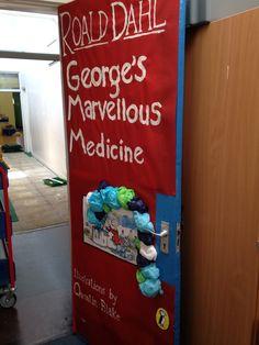 George's marvellous medicine class room door