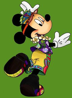 Hawaii Mickey Mouse