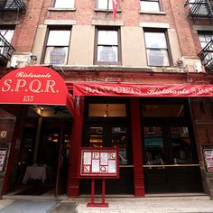 Little Italy's SPQR on Mulberry Street Has Closed
