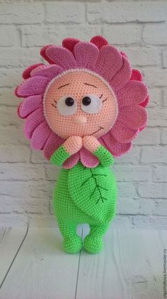Amigurumi knitting toy recipes and models you can meet with a great web site you're aware of a click away from? Crochet Patterns Animals Pictures on request crochet flower toy Crochet Patterns Amigurumi, Crochet Dolls, Amigurumi Doll, Cute Crochet, Crochet Baby, Scarf Crochet, Knitted Baby, Amigurumi Tutorial, Stuffed Toys Patterns
