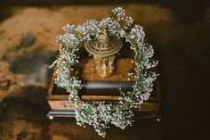 Beatrice de Guigne | The Quirky – www.the-quirky.com | bridal flower crown