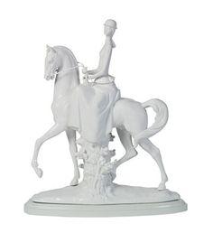 Lladro 07061 WOMAN ON HORSE - GLAZED-MATTE (RE-DECO) http://lladro.stores.yahoo.net/0amrbr.html