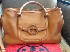 Tory Burch Amanda Hobo Royal Tan Bag - Satchel $375