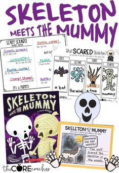 Skeleton Meets the Mummy Interactive Read-Aloud