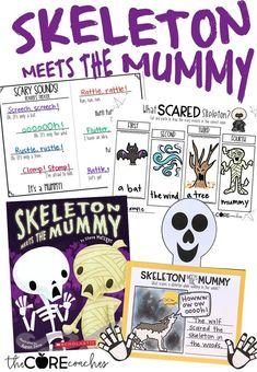 Skeleton Meets the Mummy Interactive Read-Aloud