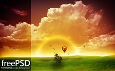 Free PSD Templates for Wallpapers and Backgrounds