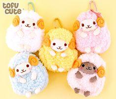 Amuse Wooly Sheep Plush Zipped Case at Tofu Cute