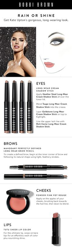 Shop makeup and skincare products on Bobbi Brown Cosmetics online. Learn Bobbi's latest looks, makeup tips and techniques. All Things Beauty, Beauty Make Up, Hair Beauty, Beauty Tips, Brown Makeup, Eye Makeup, Bobbi Brown Eyeshadow, Makeup Goals, Beauty Essentials