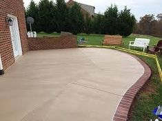 Image Result For Colored Concrete Patio