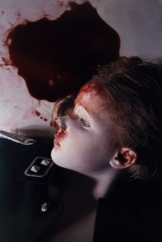 Painting by Gottfried Helnwein