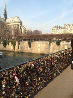 Lock bridge, Paris! ❤️