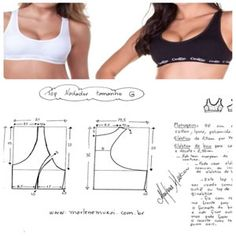 Amazing Sewing Patterns Clone Your Clothes Ideas. Enchanting Sewing Patterns Clone Your Clothes Ideas. Underwear Pattern, Lingerie Patterns, Dress Sewing Patterns, Sewing Patterns Free, Clothing Patterns, Free Sewing, Pattern Sewing, Sewing Tutorials, Sewing Projects