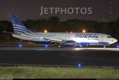 A Sideral Air Cargo 737 freighter preparing to depart Salvador - by Maycon Jorge