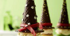 Hier zaubern große und kleine Hexen leckere Hexenhut-Muffins für die Geburtstagsparty, das Faschingsbuffet oder für den magischen Kaffeeklatsch!