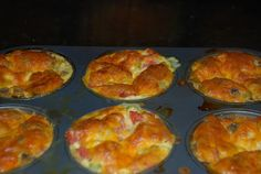 Easy make ahead frittata's that taste good and are good for you!