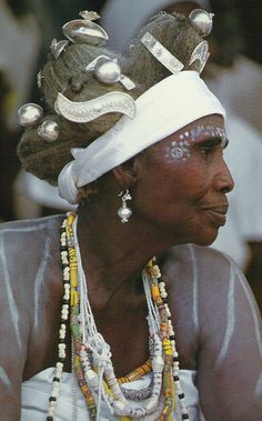**Queen of the Hausa, West Africa