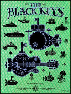EMEK - Black Keys (little black submarines)