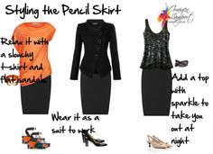 Styling the Pencil Skirt