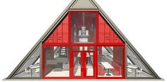 Industrial Zombie Shipping Container Architecture | Solar House