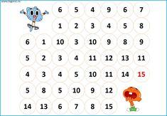 Succesiunea numerelor de la 1 la 30 - Logorici Thing 1, Word Search, Words, Horse