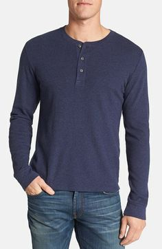 Wallin & Bros. Trim Fit Long Sleeve Henley available at #Nordstrom