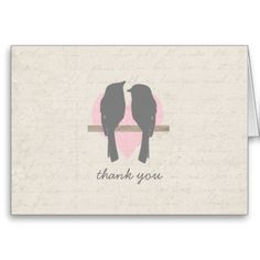>>>Coupon Code          Rustic Love Birds Wedding Thank You Card           Rustic Love Birds Wedding Thank You Card We have the best promotion for you and if you are interested in the related item or need more information reviews from the x customer who are own of them before please follow the...Cleck Hot Deals >>> http://www.zazzle.com/rustic_love_birds_wedding_thank_you_card-137291897112199202?rf=238627982471231924&zbar=1&tc=terrest