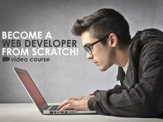 Become a Web Developer from Scratch - Learn HTML, CSS, Javascript, PHP, XML, jSON, AJAX, jQuery, HTML5 & CSS3