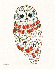 'Owl' by Stephanie Chambers
