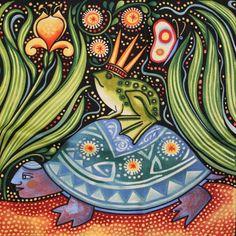 color oceanica frog