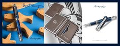 Montegrappa Ernest Hemingway The Fisherman Limited Edition Celluloid und Sterling Silber