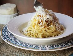 """Pasta with breadcrumbs or """"pasta ca' muddica"""" as we call it in Sicilian. This ispeasant food at it's best. All you need is leftover bread, spaghetti, lots of olive oil and grated cheese. That's all! Pasta ca' muddica is what my mother would make when we were little. These days, whenever we visit … … Continue reading →"""